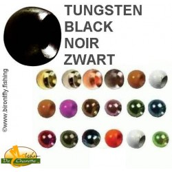 TUNGSTEN BEADS BLACK JMC