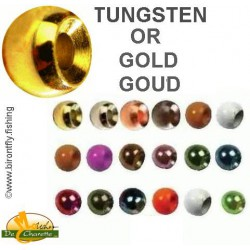 TUNGSTEN BEADS GOLD JMC