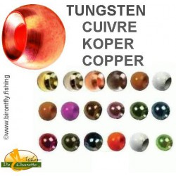 TUNGSTEN BEADS COPPER JMC