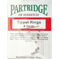 PARTRIGE TIPPET RINGS 3mm