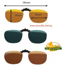 CLIP-ON GLASSES F2 POLARFLITE JMC