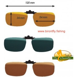 CLIP-ON GLASSES F3 POLARFLITE JMC