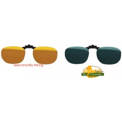 CLIP-ON GLASSES F2 TRIACETATE PHOTOCHROMIC JMC