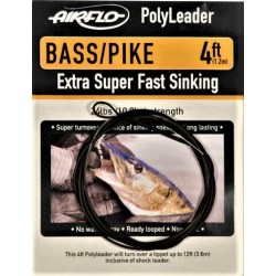 POLYLEADER BASS/PIKE 4 FT AIRFLO