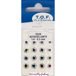SELF-ADHESIVE EYES 6.5 MM from TOF