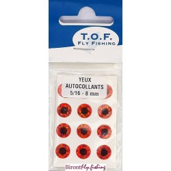 SELF-ADHESIVE EYES 8 MM from TOF