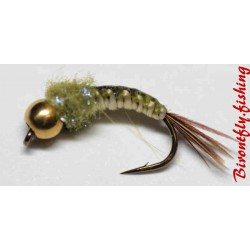 NYMPHE TRESSEE OLIVE CLASSIQUE