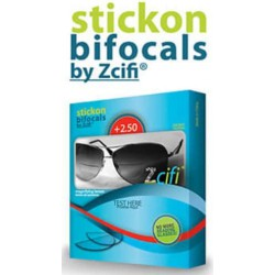 ZCIFI STICK-ON BIFOCAL MAGNIFYING LENSES