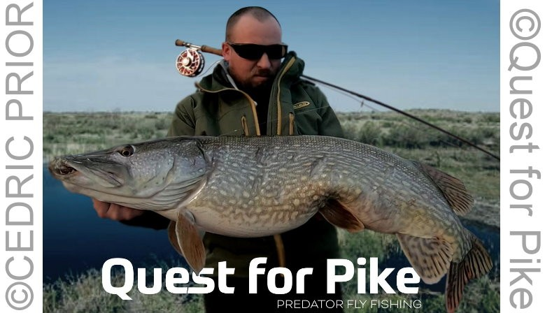 QUEST  FOR PIKE - CEDRIC PRIOR